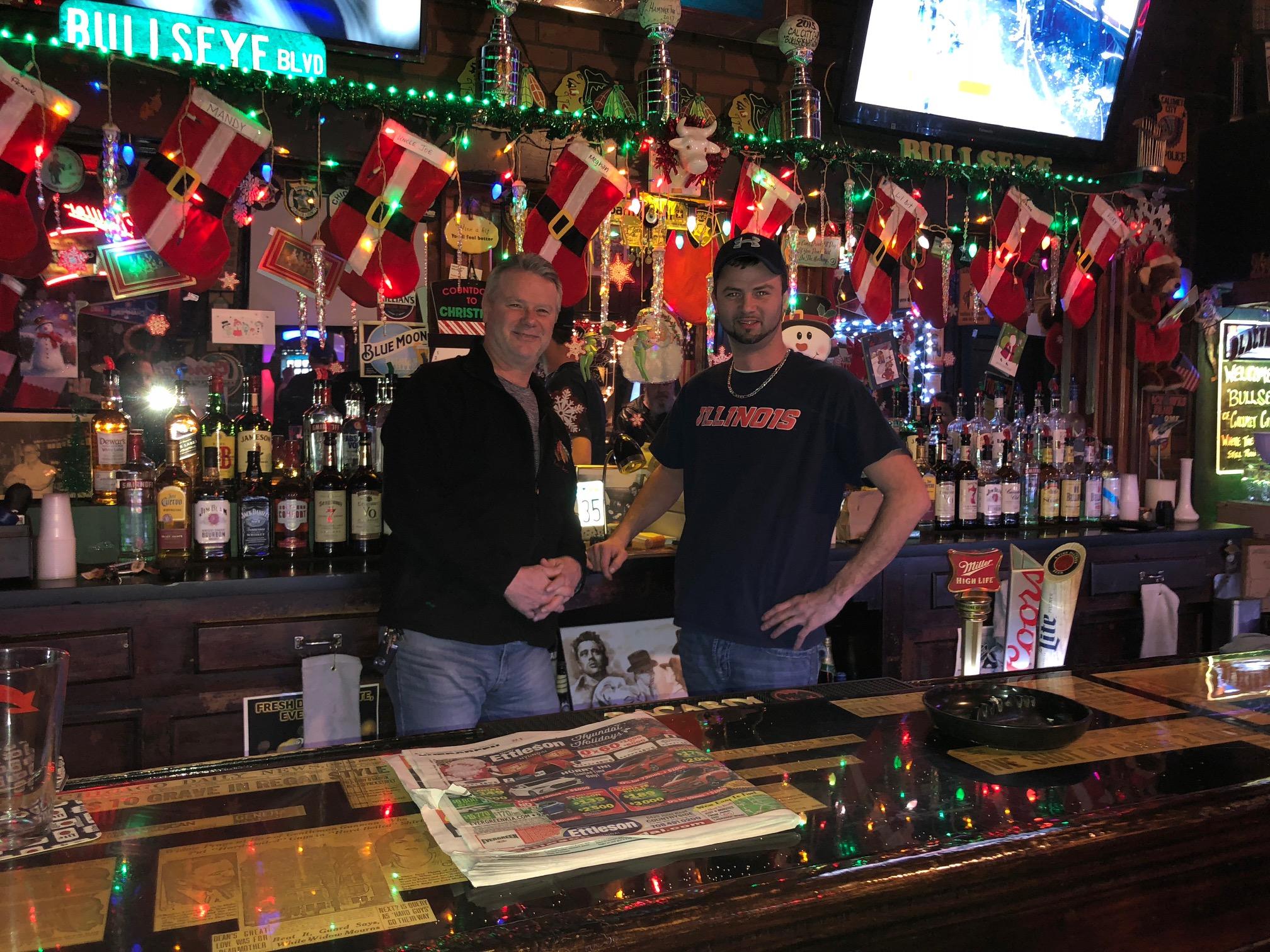 John Kasperek Co., Inc. Proudly Supporting Local Businesses like Bullseye Lounge